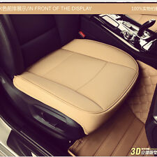 3D Breathable PU Leather luxury Car Seat Cover Pad Mat for Auto Chair Cushion
