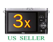 3x Clear LCD Screen Protector Guard Cover Film For Nikon 1 J3 Digital Camera