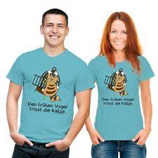 Katzen-S Kurzarm Damen-T-Shirts