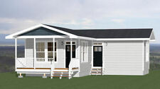 16x32 House -- 767 sq ft -- PDF FloorPlan -- 9ft Walls -- Model 2J