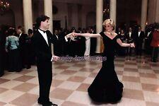 rs1710 - Princess Diana & John Travolta on the Dance Floor!! - photograph 6x4