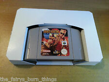 Nintendo 64 N64 Cardboard  Box Insert Replacement New