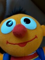 Sesame Street Baby Ernie Talking. Talking baby Ernie press nose sneezes and talk