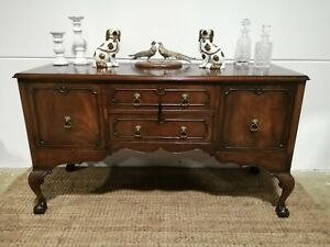 Antique Chippendale Sideboard - Antique Mahogany Server drawers Circa 1900