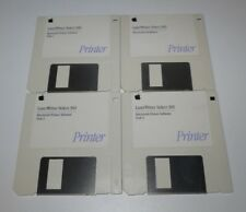 Apple Macintosh Printer Software LaserWriter Select 360 4x  Floppy Disk - edc