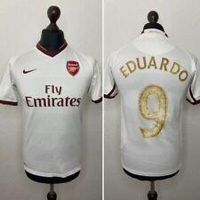 Arsenal FC jersey shirt 2007/08 #9 Eduardo Fly Emirates Nike Size XL