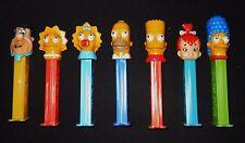 Simpsons Pez Flintstones Lot of 7 loose