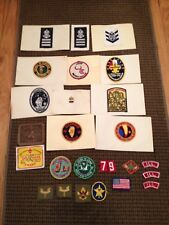 VINTAGE SEA SCOUT BSA BOY SCOUT PATCHES BADGES LOT