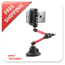 Camera Suction Cup Windshield Mount Holder Stand Shoulder Shoulder Mobile Rig