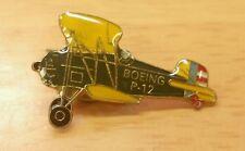 Vintage Boeing P-12 Airplane Enamel Lapel Pin
