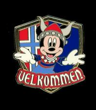 Adventures By Disney Norway Mickey Mouse Disney Pin 107198