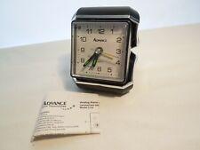 Advance Quartz Travel Alarm Clock Light-Up Dial with Paperwork Instructions