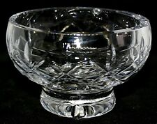 Cut Glass Candy Bon Bon Dish Art Deco Pattern Quality Vintage Bowl