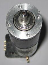 Large Maxon Motor w/ Gearhead + HEDS Encoder - 32mm D x 124mm L - 25 RPM - 6 VDC