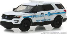 Greenlight Hot Pursuit 2016 Ford Explorer Interceptor New Orleans Police