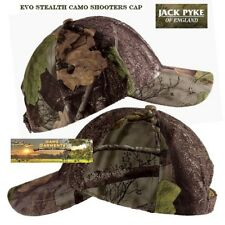 Jack Pyke Stealth Baseball Hat EVO Camo Hunting Fishing Shooting Cap Jhabassevo