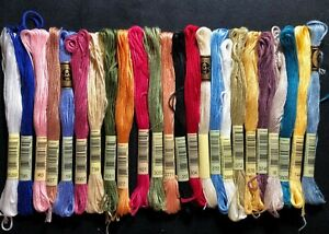 24 DMC Embroidery Floss Skeins - Set 2