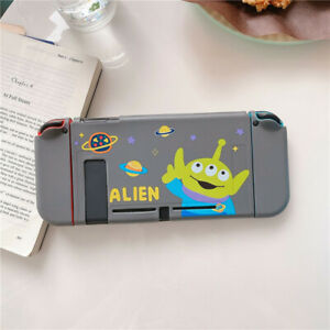 Cute Cartoon Alien Nintendo Switch Case Skin Soft Tpu Shell Protective Cover Bag