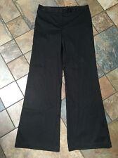 Woman's BCBG Paris Black Dress Pants Size 10 X 33
