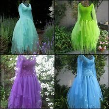 Deluxe  Adult Woman's  Fairy Costume~ Tinkerbell Halloween Party Dress ~ Theatre