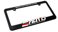 "2 x E AUTO e-autosports license Plate Frame ""Where Performance Begins"""