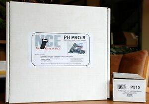 NCE 524002 PH-Pro-R Wireless DCC System/Box and 05240215 P515 power supply