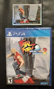 Fatal Fury: Battle Archives Volume 2 Sony PlayStation 4 Limited Run #371 - New