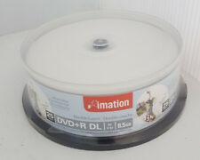 Imation DVD+R Double Layer White Printable 25pk Spindle Blank Discs