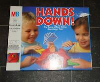 HANDS DOWN Vintage 1980s Board Game By MB Games With Instructions GOOD CONDITION