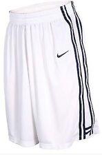 Baloncesto Nike Blanco para Hombre Base Pantalones Cortos Talle M Bnwt