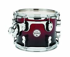 Pacific Drums PDCM0810STRB 8 x 10 Inches Tom with Chrome Hardware - Red to...