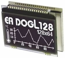 Electronic Assembly EA DOGL128S-6 Graphic LCD Display, Green, RGB, White on Blac