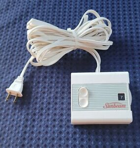 Sunbeam Style 53 613A Electric Blanket Heat Control Controller 3 Prong