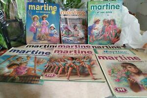 Lot de 3 albums 8 histoires et 7 livres martine