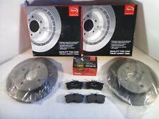 Ford Focus Mk1 Rear Brake Discs and Pads Set Solid 1998 to 2005 APEC