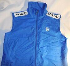 Pearl Izumi Cycling Vest Mens XL Blue Mesh Back Full Zipper Road Bike Sleeveless