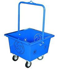 PORTALEGNA carrello lamiera con ruote, portata max 60kg.