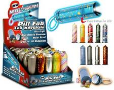 3 PILL FOB LED FLASHLIGHT  W/KEY-CHAIN Aluminum, with-out Battery