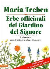 LIBRO ERBE OFFICINALI DEL GIARDINO DEL SIGNORE - MARIA TREBEN