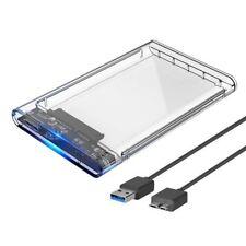"Orico 2.5"" Pulgadas USB 3.0 Disco Duro Externo Sata HDD/SSD gabinete/Caddy Caso"