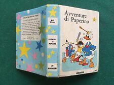 Walt DISNEY - AVVENTURE DI PAPERINO Stella d'oro 30 Serie Azzurra (1969) Libro