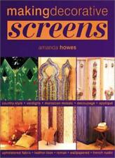 Making Decorative Screens-Amanda Howes
