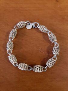 Vintage Sterling Silver Children's Bracelet Hang Tag