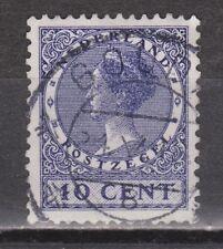 NVPH Netherlands Nederland 183 used TOP CANCEL GOUDA Wilhelmina Veth 1926