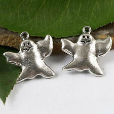15pcs Tibetan silver ghost charms Findings h1694