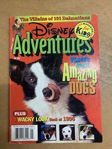 Disney Adventure Magazine - World's Most Amazing Dogs - January 1997