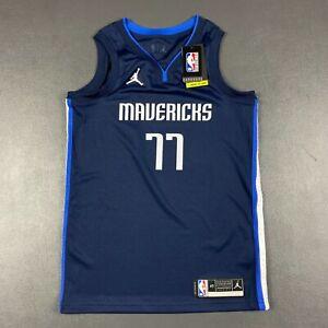 100% Authentic Luka Doncic Jordan Mavericks Statement Swingman Jersey Size 40 S