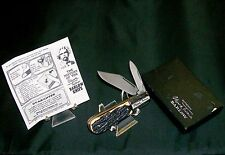 Imperial Mark Twain Barlow Knife 1950's-1980's Rare W/Packaging & Story Rare Set