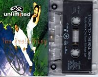 2 Unlimited The Real Thing 1994 Cassette Tape Single Pop Dance Rock