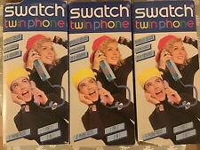 3 TELEFONO SWATCH TWIN PHONE DELUXE Nuovi New